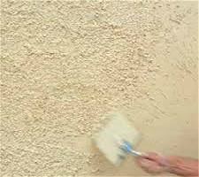 Wet dash or Roughcast is similar to Dry dash. A base coat is applied then an aggregate is integrated into the top coat before being thrown. As with dry dash a variety of colours can be used for final coat.